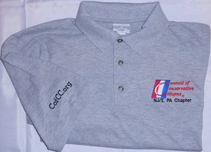 Example of a customized shirt.