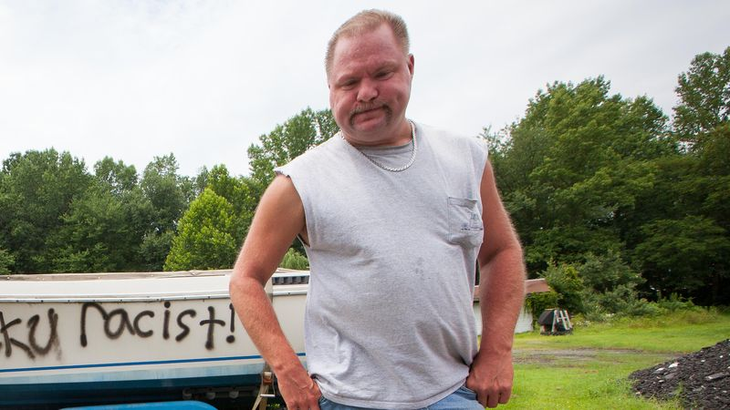 Delaware man returns home to find his boat vandalized and his windows broken