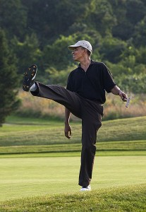 Barack-Obama-Playing-Another-Round-Of-Golf
