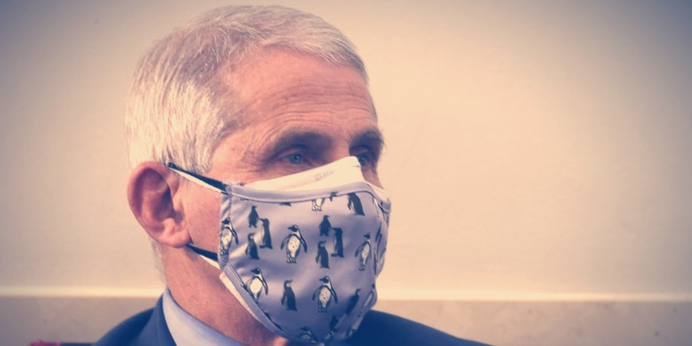 Fauci Admits Wearing Mask was Theater Two Months After Saying Masks are Not Theater