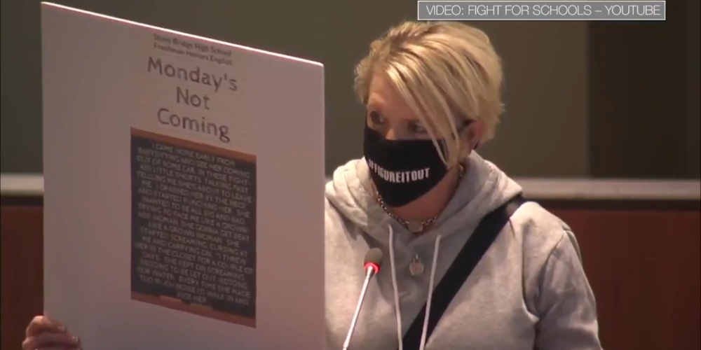 Watch Angry Moms Read 'Crap' to School Board