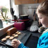 Gracie F - Baking Biscuits