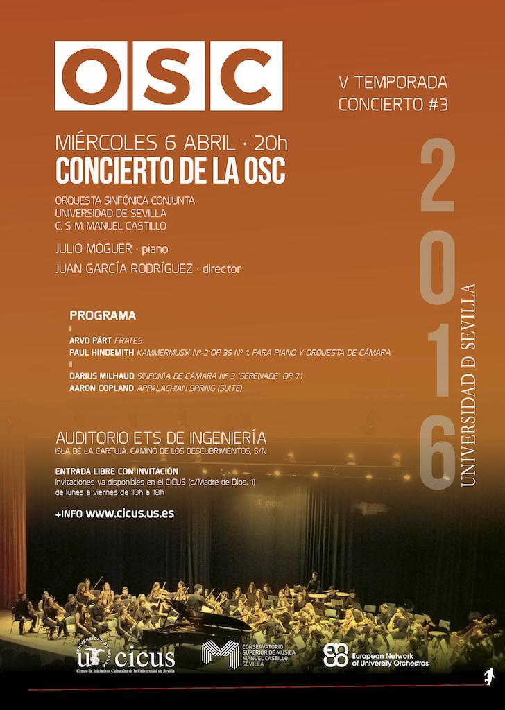 Orquesta Sinfónica Conjunta — Tercer concierto de la V Temporada