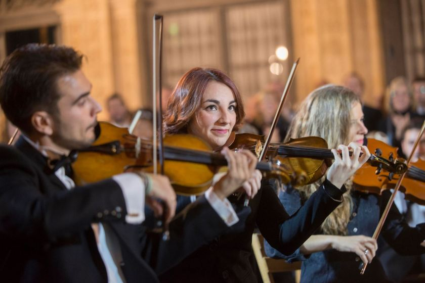 Claudia Gallardo Uriarte, ganadora del premio a la mejor intérprete de cuerda