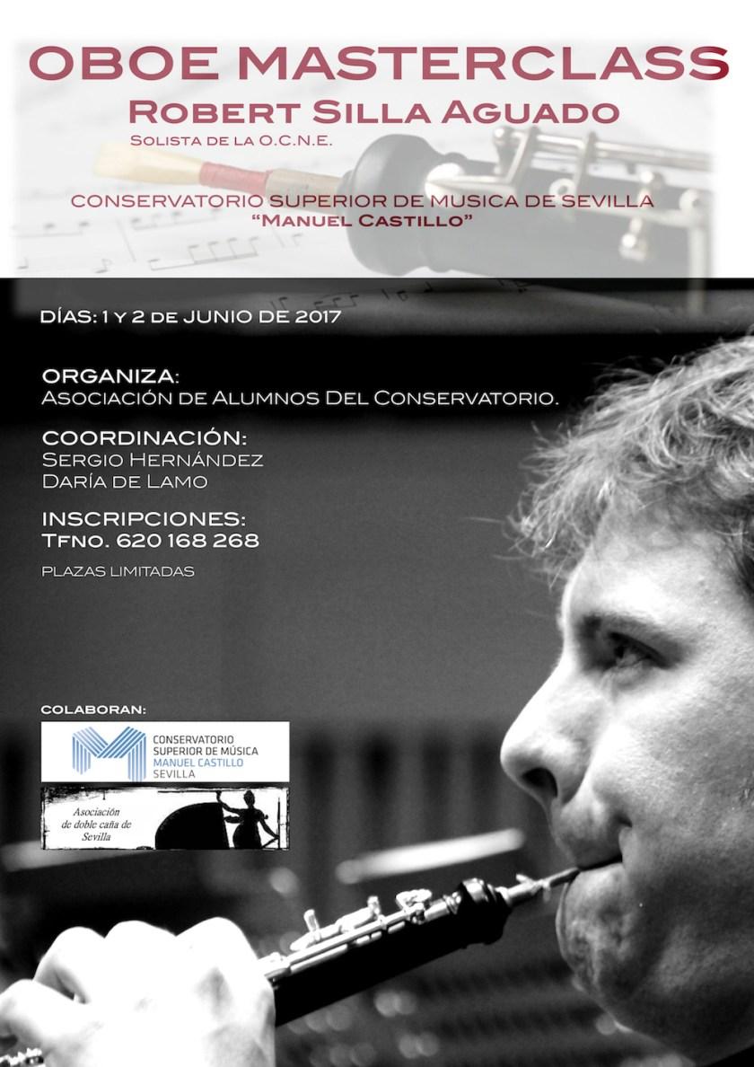 Clases magistrales de oboe — Robert Silla