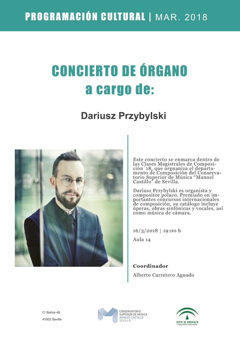 Concierto de órgano - Dariusz Przybylski