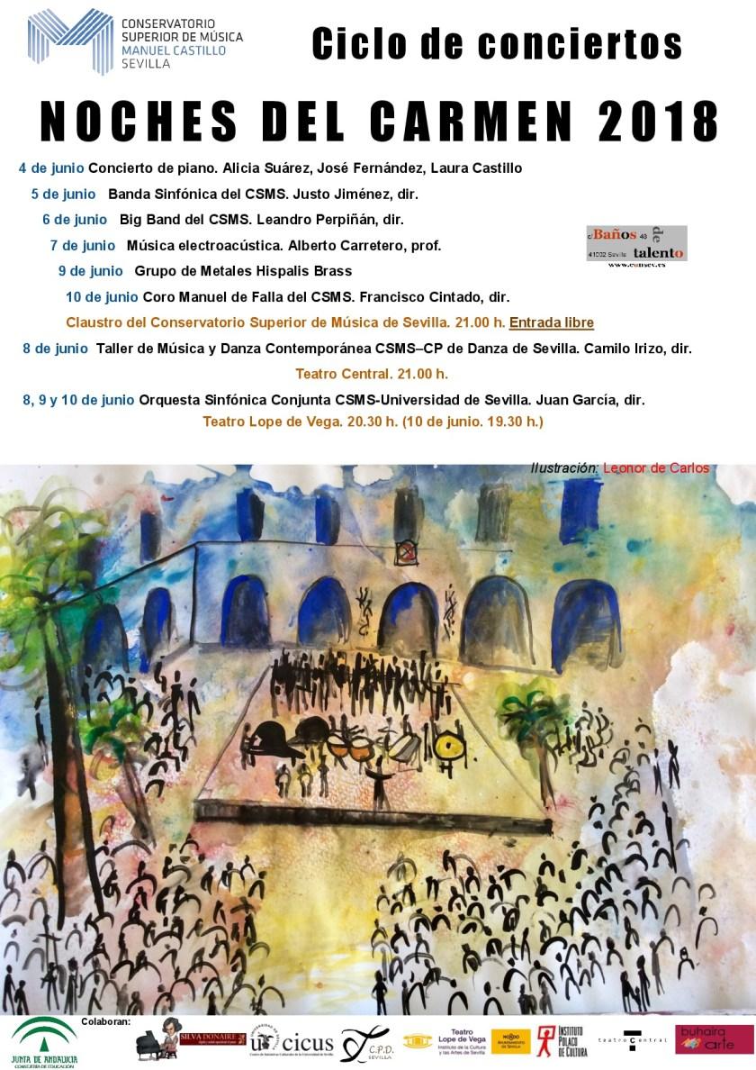 Ciclo Musical «Noches del Carmen 2018»