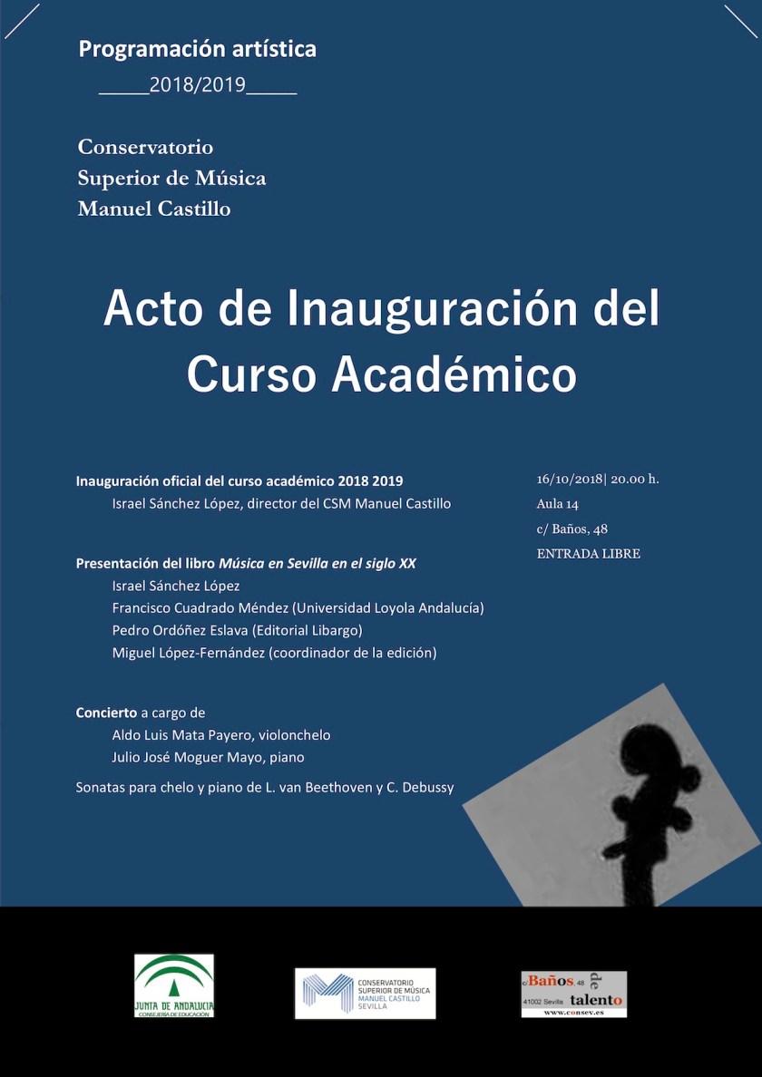 Acto de apertura del curso académico 2018–19