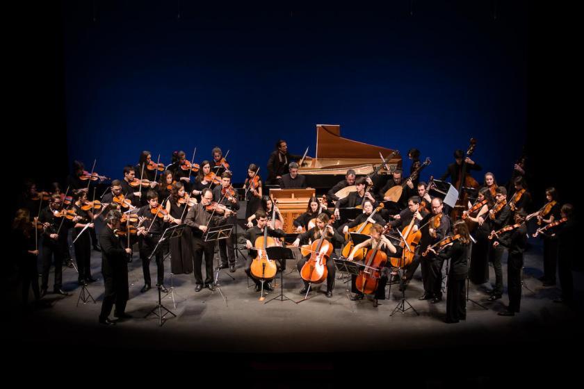 Joven Orquesta Barroca de Sevilla. Foto: Luis Ollero