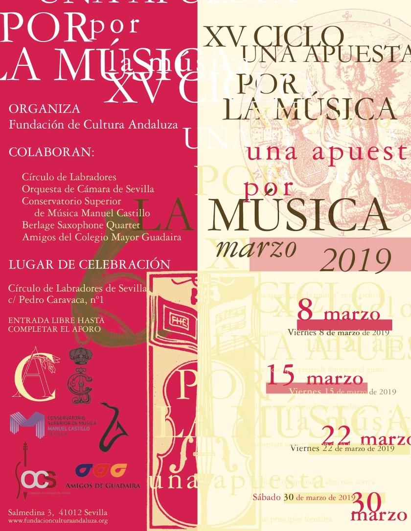 XV Ciclo de Conciertos «Una apuesta por la música»
