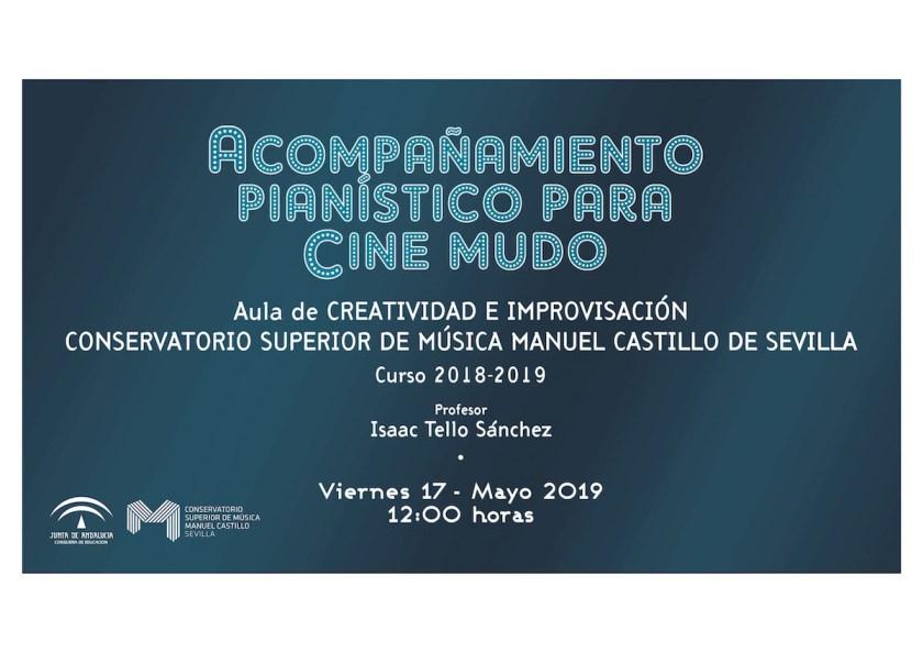 improvisación y el acompañamiento para cine mudo