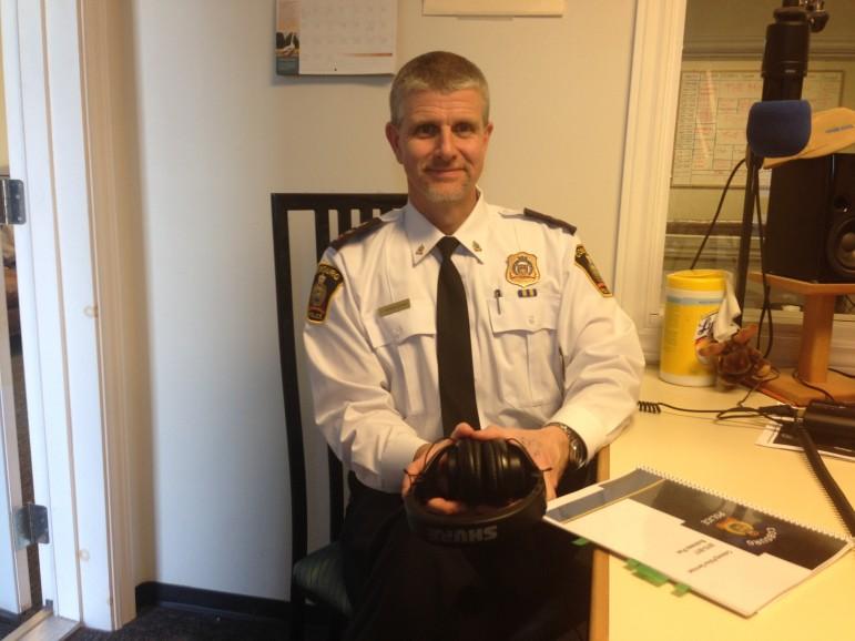 Cobourg Police Deputy Chief Paul Vandegraaf
