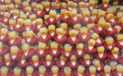 Mozart ducks! In Salzburg.