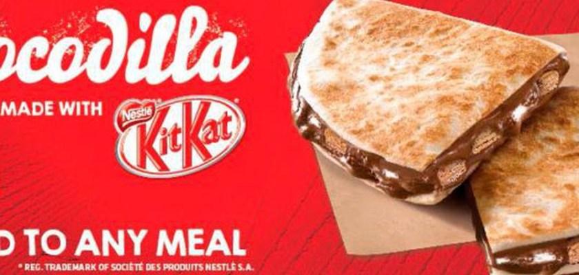 Taco Bell Kit Kat and Twix Quesadilla Consider The Consumer