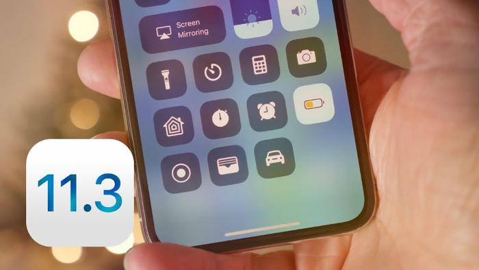 Apple's iOS 11.3 Update Consider The Consumer