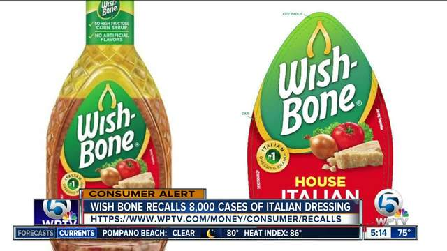 House Italian Salad Dressing Recalled Wish Bone Recall Consider The Consumer