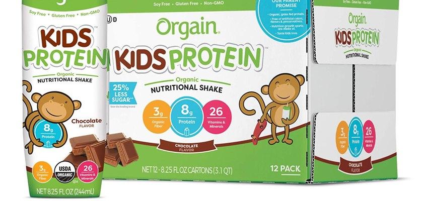 Orgain Kids Organic Shake Class Action Lawsuit