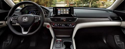 Interior Of 2021 Honda Accord