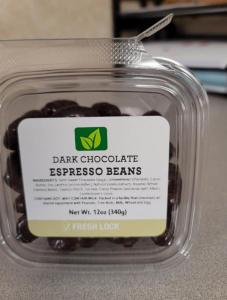 Torn & Glasser Dark Chocolate Espresso Beans Recall 2021