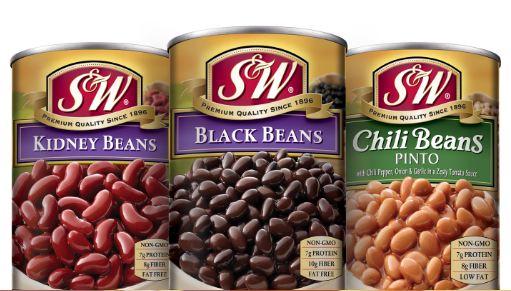 S&W Beans Recall - Black Beans & Chili Beans Recalled