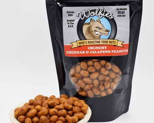 Cheddar & Jalapeno Nuts Recall 2021 - Wolfies Roasted Nut Co. Flavored Nuts Contain Allergens