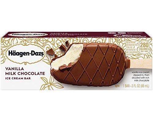 Haagen-Daz Vanilla Milk Chocolate Ice Cream Bars Class Action Lawsuit 2021 - Coconut Oil Instead Of Cocoa Butter