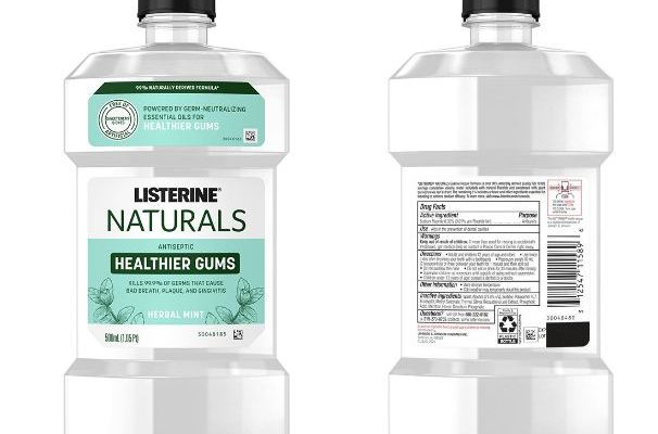 Listerine Naturals Class Action Lawsuit 2021 - Mouthwashes Aren't Really Natural, Contain Artificial Ingredients