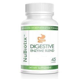 NuBiotix's Digestive Enzyme Blend - Before & After