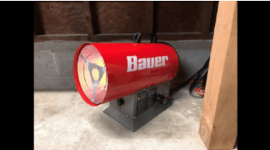 Bauer Forced Air Propane Portable Heaters Recall 2021 - Gas Leakage & Fire Hazards From Harbor Freight