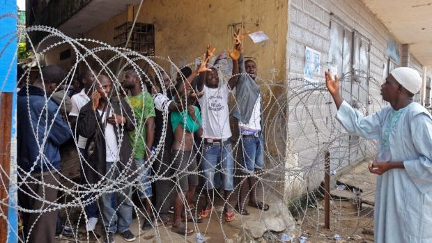 Ebola quarantine measures
