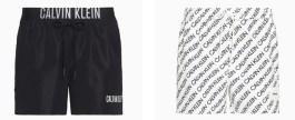 Costumi uomo Calvin Klein estate 2020: foto e prezzi moda mare