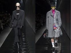 Versace uomo e donna moda autunno inverno 2020/2021