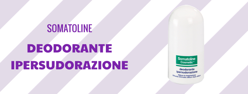 Deodorante ipersudorazione - Somatoline