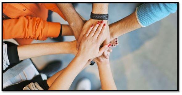 sinergia y el trabajo en equipo