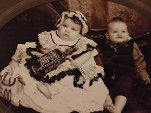 Baby Old Time Photo