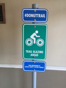 Butler County Donut Trail Sign