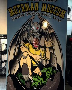 Photo Opt at the Mothman Museum
