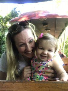 Cincinnati Zoo Train with a toddler