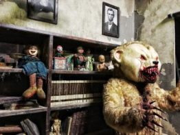 Haunted House Horror scenes