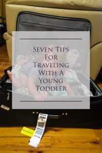 Seven Tips for traveling with a young toddler