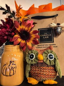 Fall Scents are now at the Candle Lab