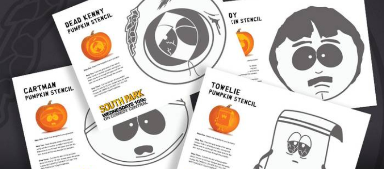 'South Park' Crew Releases 47 Free Halloween Pumpkin Stencils