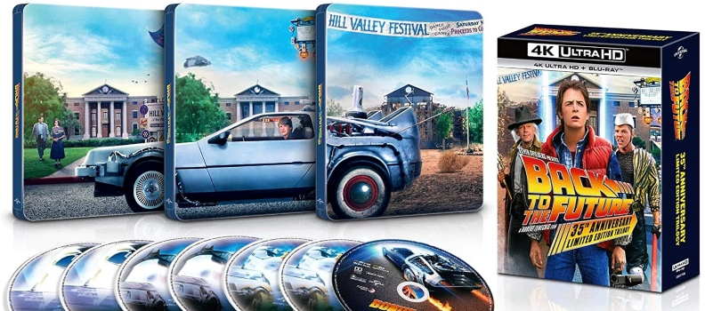 Exclusive 'Back to the Future' Trilogy 4K UHD Steelbook Arrives at Best Buy