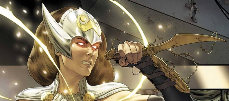 Jane Foster and Loki Assemble 'The Mighty Valkyries'  this April