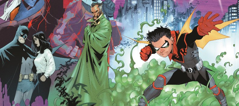 Joshua Williamson and Gleb Melnikov Guide Damian Wayne on a New Journey in 'Robin' this April
