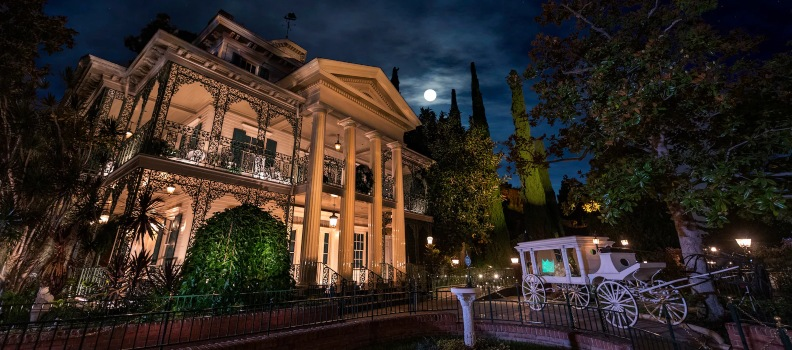 Disneyland's Haunted Mansion Does Some Ghastly Redecorating