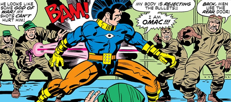 'O.M.A.C. One Man Army Corps' Collection by Jack Kirby Coming in June