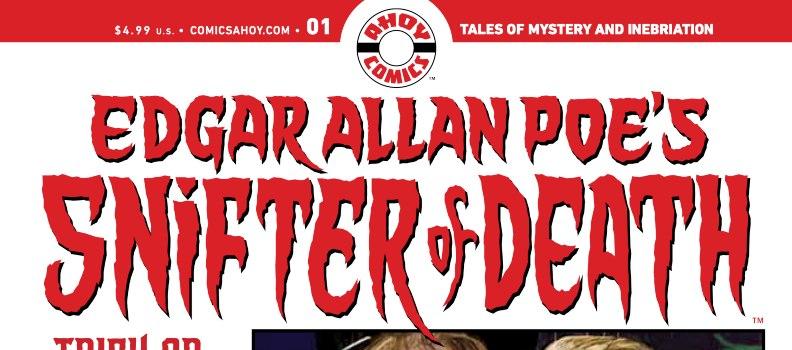 'Edgar Allan Poe's Snifter Of Death' Writer Mark Russell: The Conskipper Interview