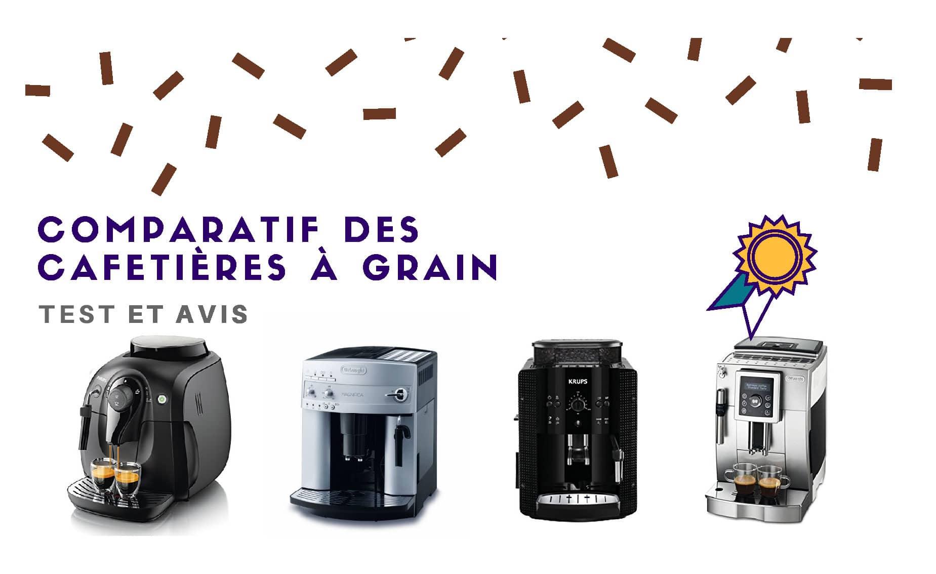 machine a cafe a grain comparatif des