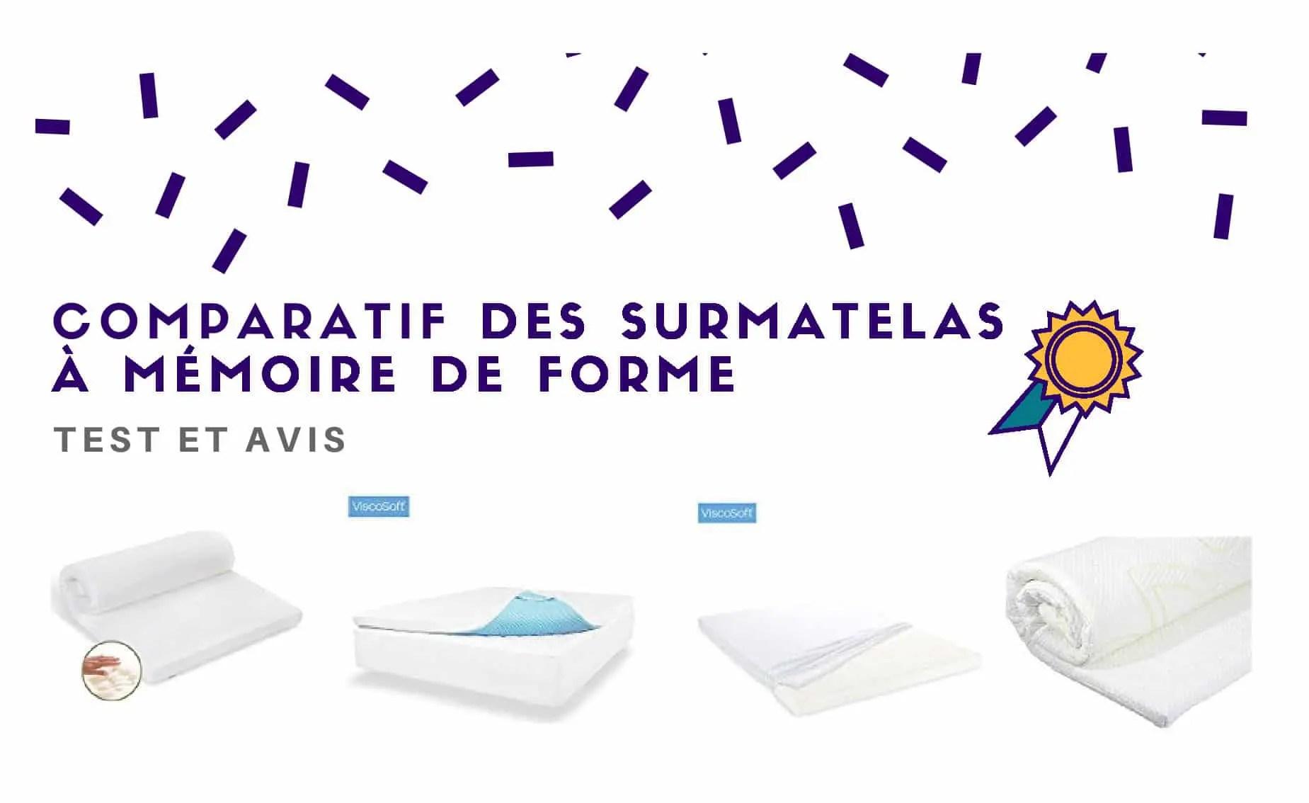 Surmatelas A Memoire De Forme Comparatif Et Avis 2021